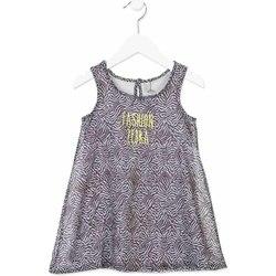 Υφασμάτινα Κορίτσι Κοντά Φορέματα Losan 816-7033AD Γκρί