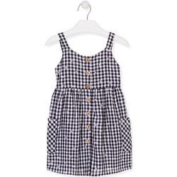 Υφασμάτινα Κορίτσι Κοντά Φορέματα Losan 016-7002AL Μπλε