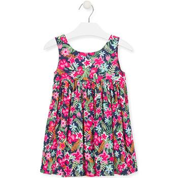 Υφασμάτινα Κορίτσι Κοντά Φορέματα Losan 016-7036AL Ροζ