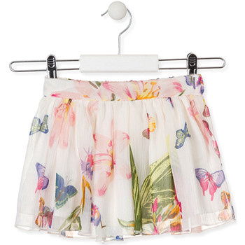 Υφασμάτινα Κορίτσι Φούστες Losan 016-7781AL λευκό