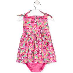 Υφασμάτινα Κορίτσι Φορέματα Losan 018-7006AL Ροζ