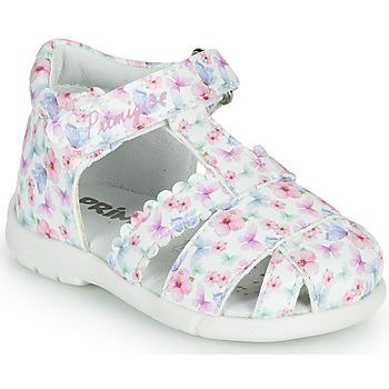 Παπούτσια Κορίτσι Σανδάλια / Πέδιλα Primigi NOEMIE Άσπρο / Multicolour
