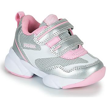 Παπούτσια Κορίτσι Χαμηλά Sneakers Primigi SUZZI Silver / Ροζ
