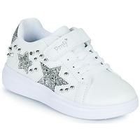 Παπούτσια Κορίτσι Χαμηλά Sneakers Primigi NOLLA Άσπρο / Silver