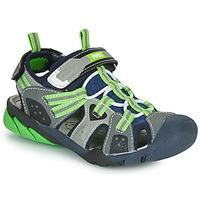Παπούτσια Αγόρι Σπορ σανδάλια Primigi ANATI Grey / Green