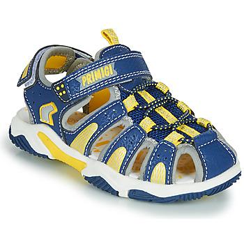 Παπούτσια Αγόρι Σπορ σανδάλια Primigi ISMAEL Μπλέ / Yellow