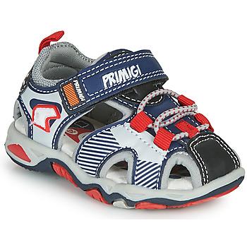 Παπούτσια Αγόρι Σπορ σανδάλια Primigi HIMAN Grey / Μπλέ / Red
