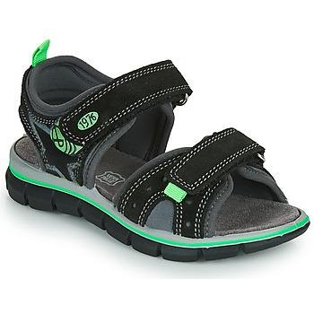 Παπούτσια Αγόρι Σανδάλια / Πέδιλα Primigi NOIRA Black / Green