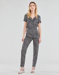 Υφασμάτινα Γυναίκα Ολόσωμες φόρμες / σαλοπέτες Ikks BS32005-02 Black