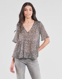 Υφασμάτινα Γυναίκα Μπλούζες Ikks BS11135-02 Grey