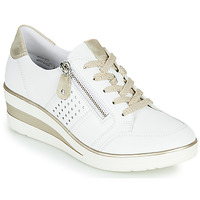 Παπούτσια Γυναίκα Χαμηλά Sneakers Remonte Dorndorf DORA Άσπρο / Gold