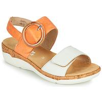 Παπούτσια Γυναίκα Σανδάλια / Πέδιλα Remonte Dorndorf ORAN Orange / Άσπρο