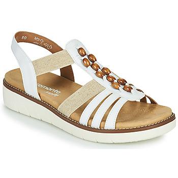Παπούτσια Γυναίκα Σανδάλια / Πέδιλα Remonte Dorndorf GRISSA Άσπρο / Grey