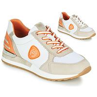 Παπούτσια Γυναίκα Χαμηλά Sneakers Remonte Dorndorf POLLUX Άσπρο / Grey / Orange
