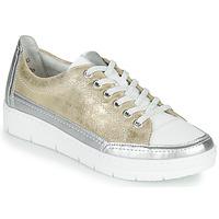 Παπούτσια Γυναίκα Χαμηλά Sneakers Remonte Dorndorf PHILLA Gold / Silver