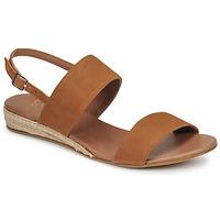 Παπούτσια Γυναίκα Σανδάλια / Πέδιλα Casual Attitude OLIVE Camel