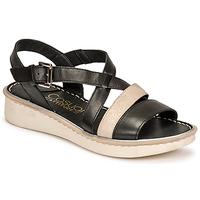 Παπούτσια Γυναίκα Σανδάλια / Πέδιλα Casual Attitude ODETTE Black / Gold
