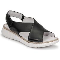 Παπούτσια Γυναίκα Σανδάλια / Πέδιλα Casual Attitude ODILE Black
