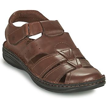 Παπούτσια Άνδρας Σανδάλια / Πέδιλα Casual Attitude ODOUNE Brown
