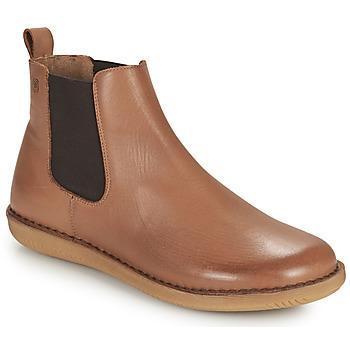Παπούτσια Γυναίκα Μπότες Casual Attitude ODILETTE Camel