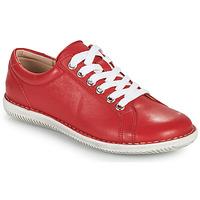 Παπούτσια Γυναίκα Derby Casual Attitude OULETTE Red