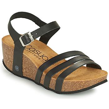 Παπούτσια Γυναίκα Σανδάλια / Πέδιλα Casual Attitude OUDINE Black