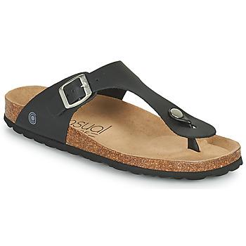 Παπούτσια Γυναίκα Σαγιονάρες Casual Attitude OXOA Black