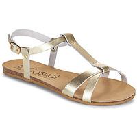 Παπούτσια Γυναίκα Σανδάλια / Πέδιλα Casual Attitude JALIYAXE Gold