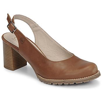 Παπούτσια Γυναίκα Γόβες Casual Attitude OLEA Camel