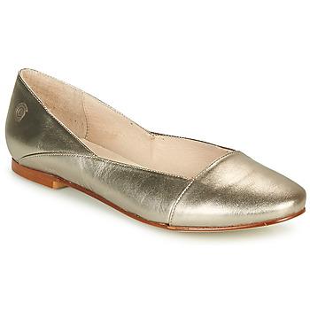 Παπούτσια Γυναίκα Μπαλαρίνες Casual Attitude TOBALO Bronze