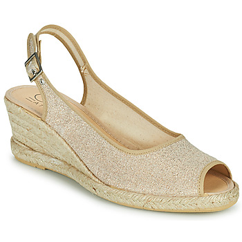 Παπούτσια Γυναίκα Σανδάλια / Πέδιλα Casual Attitude MADELEINE Gold