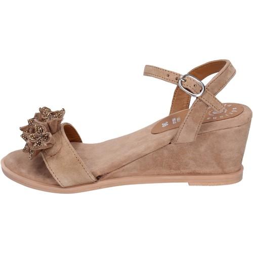 Παπούτσια Γυναίκα Σανδάλια / Πέδιλα Adriana Del Nista Σανδάλια BK996 καφέ