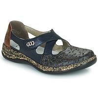 Παπούτσια Γυναίκα Μπαλαρίνες Rieker DUBLIN Μπλέ