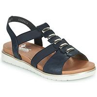 Παπούτσια Γυναίκα Σανδάλια / Πέδιλα Rieker NINNA Μπλέ