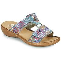 Παπούτσια Γυναίκα Τσόκαρα Rieker FOUNNA Multicolour