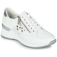 Παπούτσια Γυναίκα Χαμηλά Sneakers Rieker GRAMI Άσπρο