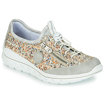 Παπούτσια Γυναίκα Χαμηλά Sneakers Rieker GRISSA Grey / Multicolour