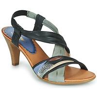 Παπούτσια Γυναίκα Σανδάλια / Πέδιλα Betty London POULOI Black / Grey