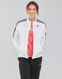 Υφασμάτινα Γυναίκα Σπορ Ζακέτες adidas Performance MARATHON JKT W Άσπρο