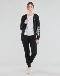Υφασμάτινα Γυναίκα Σετ από φόρμες adidas Performance W LIN FT TS Black