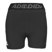 Υφασμάτινα Γυναίκα Σόρτς / Βερμούδες adidas Performance TF SHRT 3 BAR T Black