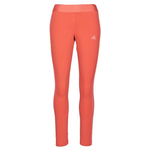 Υφασμάτινα Γυναίκα Κολάν adidas Performance W 3S LEG Red