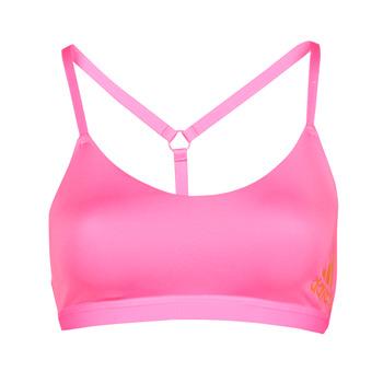 Υφασμάτινα Γυναίκα Αθλητικά μπουστάκια  adidas Performance AM BR BRA Ροζ