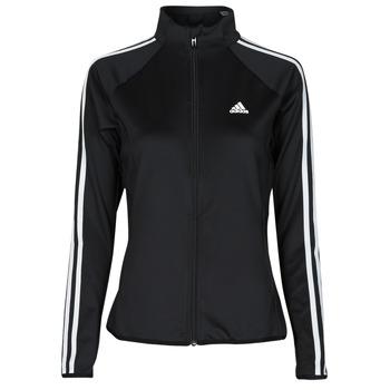 Υφασμάτινα Γυναίκα Σπορ Ζακέτες adidas Performance W 3S TJ Black