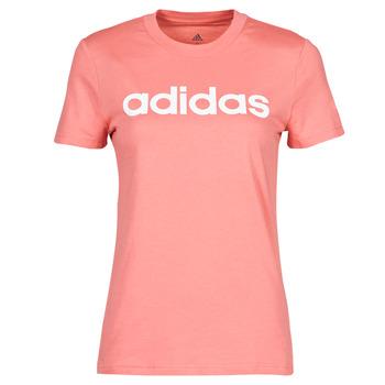 T-shirt με κοντά μανίκια adidas W LIN T Σύνθεση: Βαμβάκι