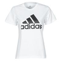 Υφασμάτινα Γυναίκα T-shirt με κοντά μανίκια adidas Performance W BL T Άσπρο
