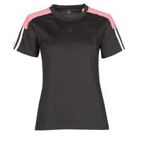 Υφασμάτινα Γυναίκα T-shirt με κοντά μανίκια adidas Performance W CB LIN T Black