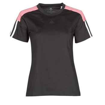 T-shirt με κοντά μανίκια adidas W CB LIN T Σύνθεση: Βαμβάκι & Σύνθεση επένδυσης: Βαμβάκι,Spandex