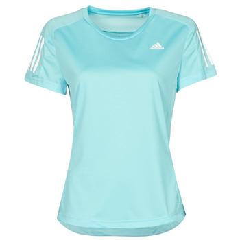 Υφασμάτινα Γυναίκα T-shirt με κοντά μανίκια adidas Performance OWN THE RUN TEE Μπλέ