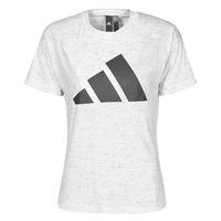 Υφασμάτινα Γυναίκα T-shirt με κοντά μανίκια adidas Performance W WIN 2.0 TEE Άσπρο